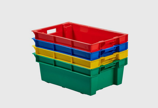 Stacking and Nesting Crates